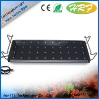Chinese led aquarium light 120w Auto-dimming & Remote Control led marine coral reef light aquarium