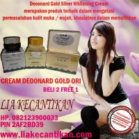 CREAM PAKET DEOONARD GOLD DAN SILVER MENGATASI MASALAH JERAWAT 082123900033 / 2AF2BD39