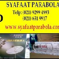 Toko Antena Parabola I Jual + Jasa Pasang Parabola Di Parung I Bogor