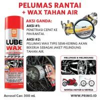 Pelumas Rantai Motor Chain Lube PRIMO LUBE WAX 300 mL