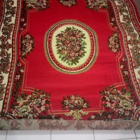 Karpet Flower - Red uk.145 cm