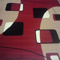 Karpet Square - Red uk.170*230 cm