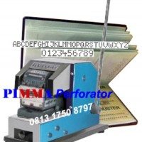 Mesin Perforator PIMMA TP 100 Manual