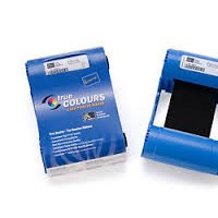 ribbon printer id card zebra p110i,p120i black 800015-901