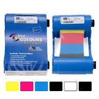 ribbon printer id card zebra p330i,p430i ymcko 800015-440