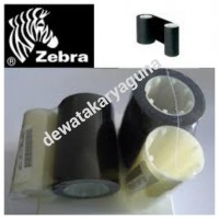 ribbon printer id card zebra p330i,p430i black 800015-101