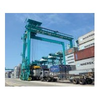 Rubber-Tyred Gantry Cranes ( RTG)
