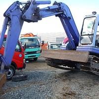 Mini Excavator Komatsu PC75UU. Ex JAPAN !