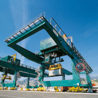 Rail-Mounted Gantry Cranes ( RMG)
