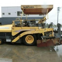 Asphalt Finisher Sumitomo HA60W. Wide 6 mtr. Ex JAPAN !
