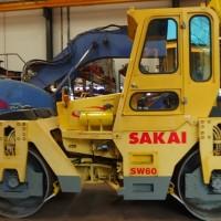 Tandem Roller Sakai SW60. Kap 6-8 ton. Ex JAPAN !