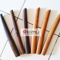 KIMU COLLECTIONS: PAKET 3 TANTO KAYU SONOKELING, 3 TANTO JATI atau BENGKIRAI