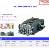 POMPA INTERPUMP 200 BAR | POMPA HYDROTEST 200 BAR | HIGH PRESSURE WATER CLEANER