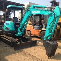 Mini Excavator Kobelco SK30SR-3. Build up !