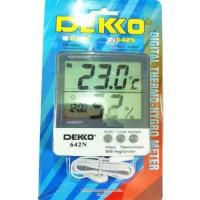 Thermo Hygrometer Dekko 642N