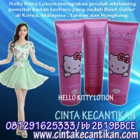 HELLO KITTY LOTION 081291625333 mengandung SPF 70 + vit c