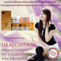 CREAM WALET GOLD 082123900033 / 30AF809C