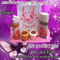 CREAM RD [081316077399] produk perawatan wajah herbal sekaligus memutihkan wajah