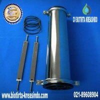 Membrane Housing SS 2,5 Inch End Entry