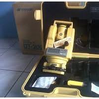 Digital Theodolite Topcon DT-205L memberikan 5 detik Akurasi sudut kompak dan ringan