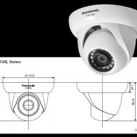 CCTV Panasonic X-Plus K-EF134L06E