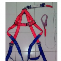 Full Body Harnes + single Lanyard Absorber