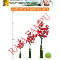 Lampu Hias Taman Bunga Sakura