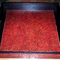 Baki Batik Kayu