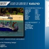 SPORT FISHING BOAT 6 METER