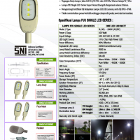 LAMPU PJU ONE LED 100Watt (AC/DC)