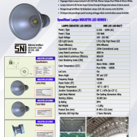 Lampu Industri 100Watt ONE LED