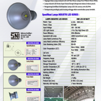 Lampu Industri 80Watt ONE LED