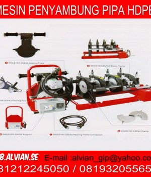 BUTTFUSION WELDING MACHINES 081932055655