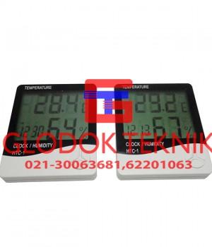 Alat Ukur Suhu Ruangan HTC-1, Alat Ukur Kelembaban Ruangan HTC-1, Thermohygrometer HTC-1,