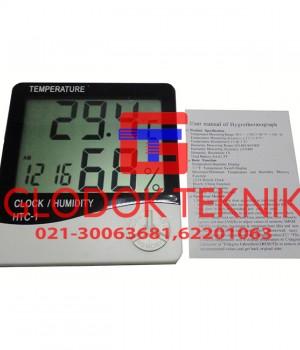 Thermohygrometer HTC-1, Alat Ukur Suhu dan Kelembaban Ruangan HTC-1, HTC-1,