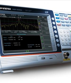 GW INSTEK GSP-9300 SPECTRUM ANALYZERS