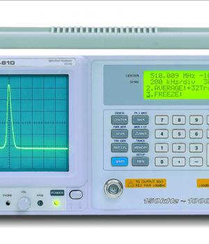 GW INSTEK GSP-810 SPECTRUM ANALYZERS