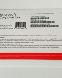 Windows Pro 8.1 64-bit Eng Intl 1pk DSP OEI DVD Microsoft