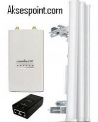 Paket BTS 2,4 GHz Airmax 15 dBi + Rocket M2
