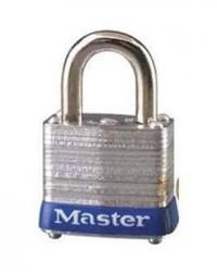 Master Lock Laminated Steel Padlock 3 Blue
