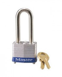 Master Lock Laminated Steel Padlock 3LF Blue
