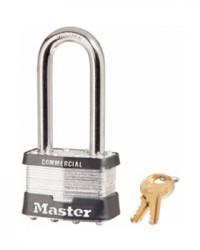 Master Lock Laminated Steel Padlock 3LF Black