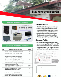 Solar Home System 100Wp