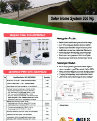 Solar Home System 200Wp