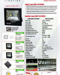 Lampu LED Sorot 100 Watt