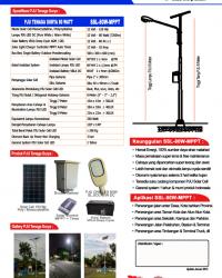 Paket PJU 80 Watt