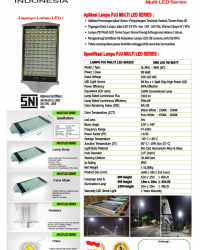 Lampu Multi LED 98 Watt