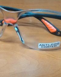 kacamata besgard,safety glass Clear Mirror anti fog coated