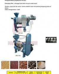 MESIN OIL FILTER PRESS