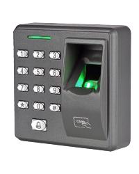 Akses kontrol kunci pintu sidik jari dan kartu RFID AC401-FC